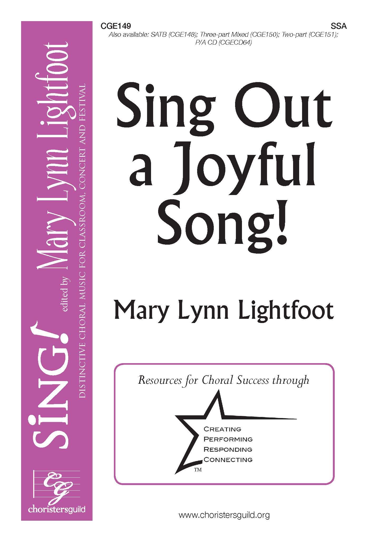 Sing Out a Joyful Song! SSA