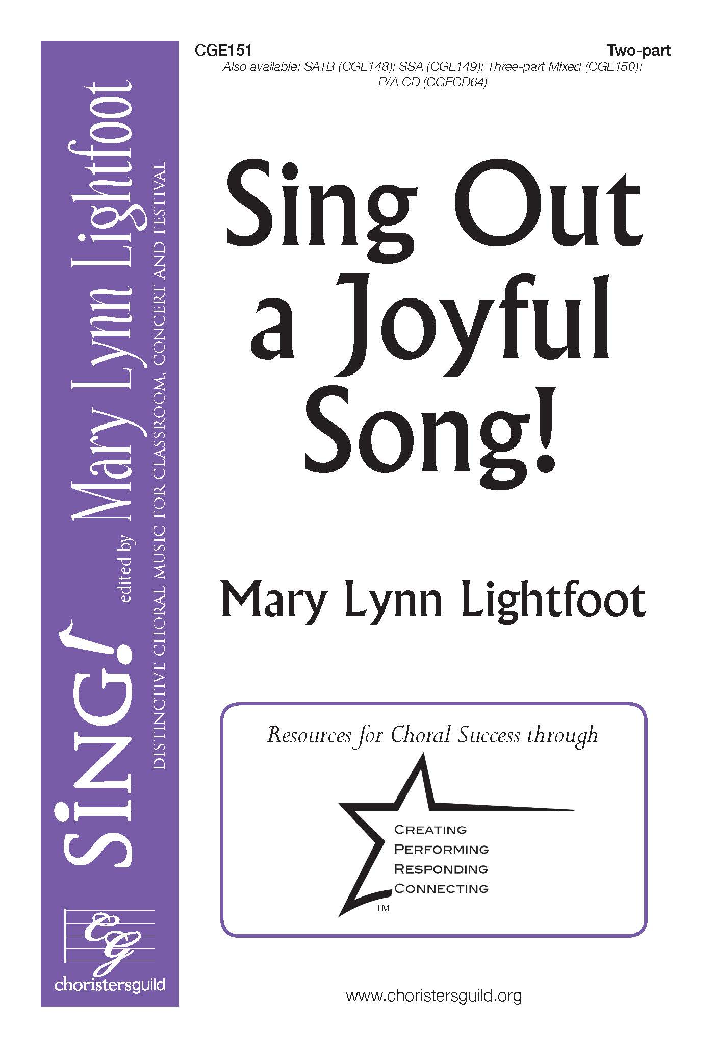Sing Out a Joyful Song! Two-part