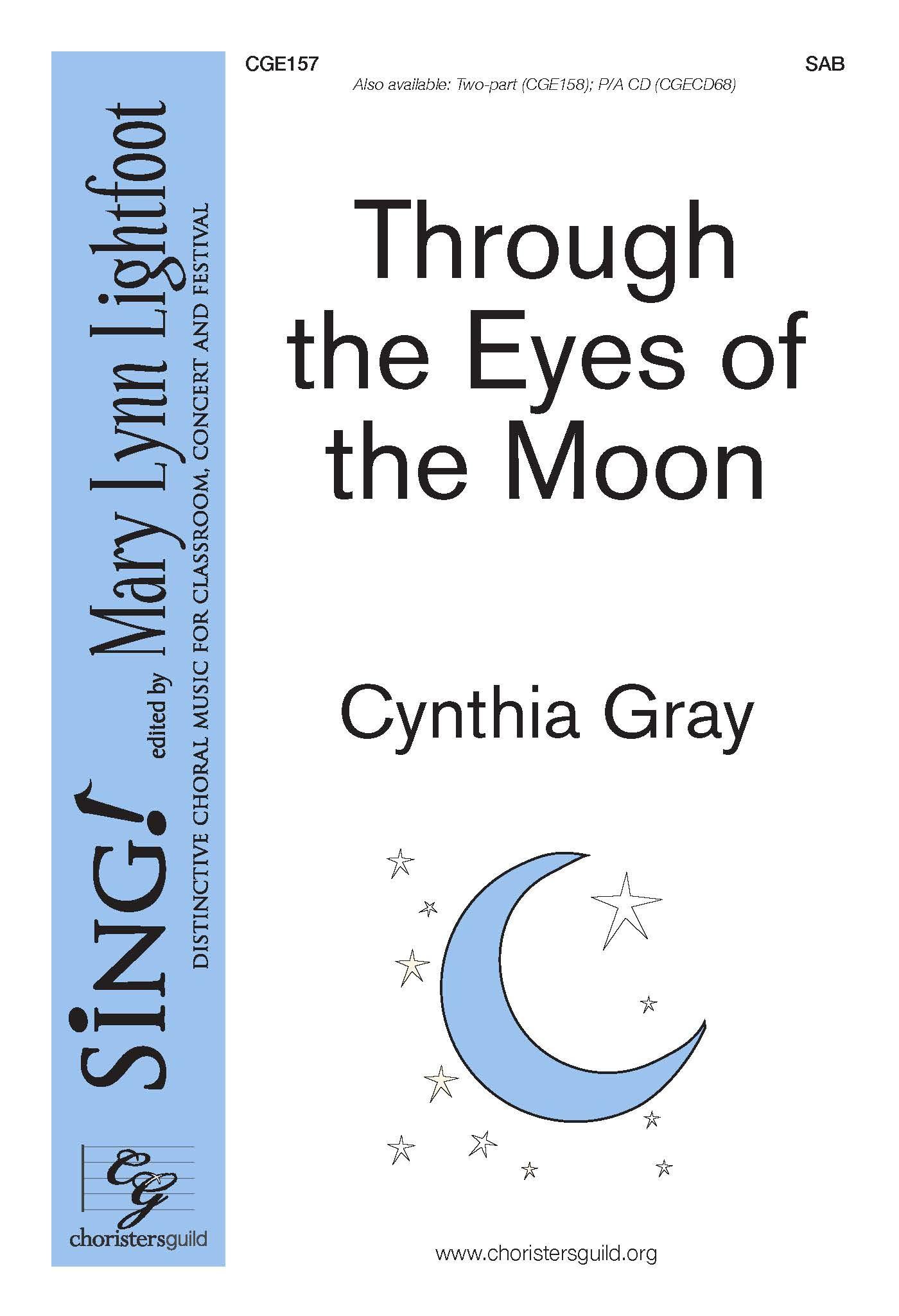 Through the Eyes of the Moon SAB