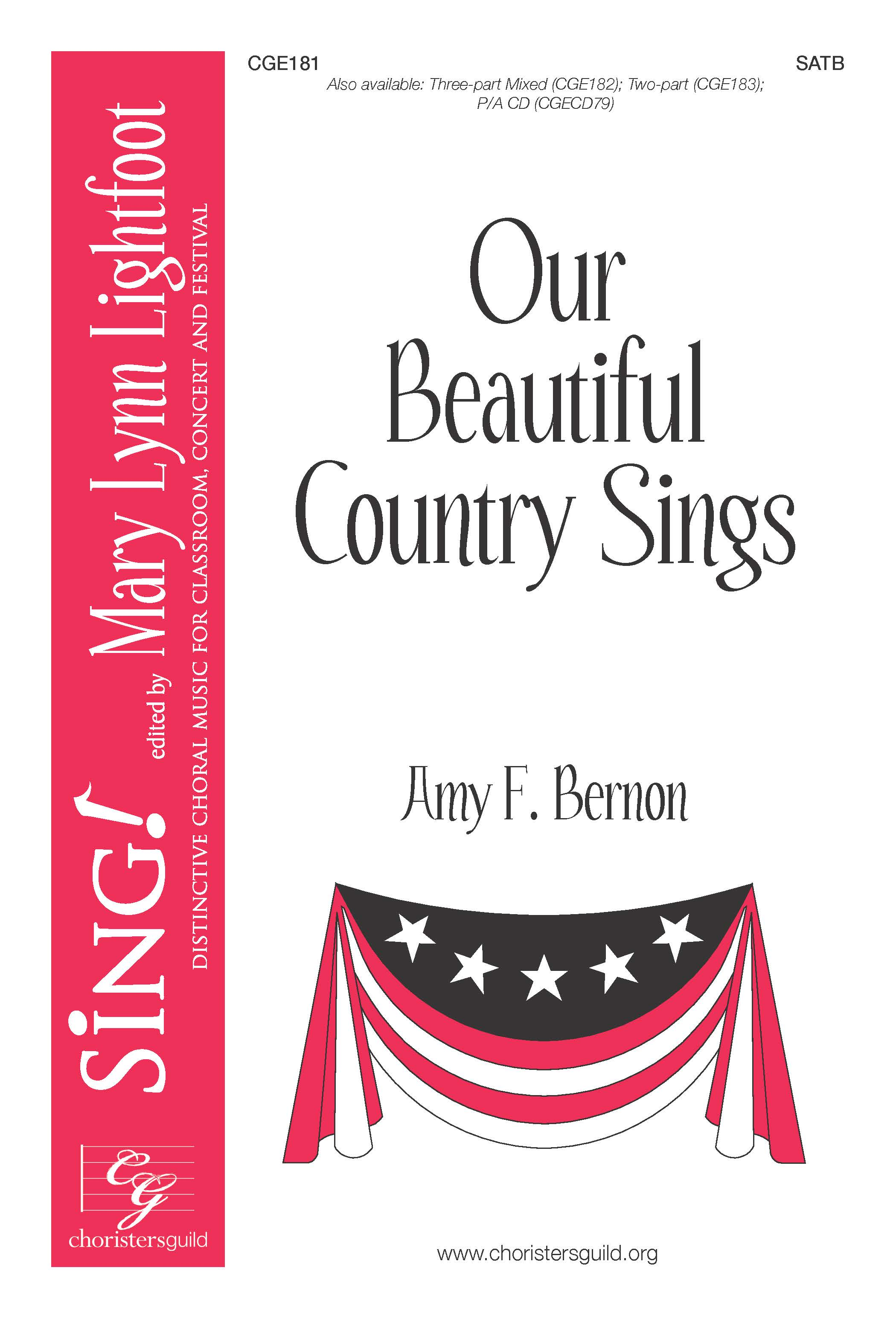 Our Beautiful Country Sings SATB