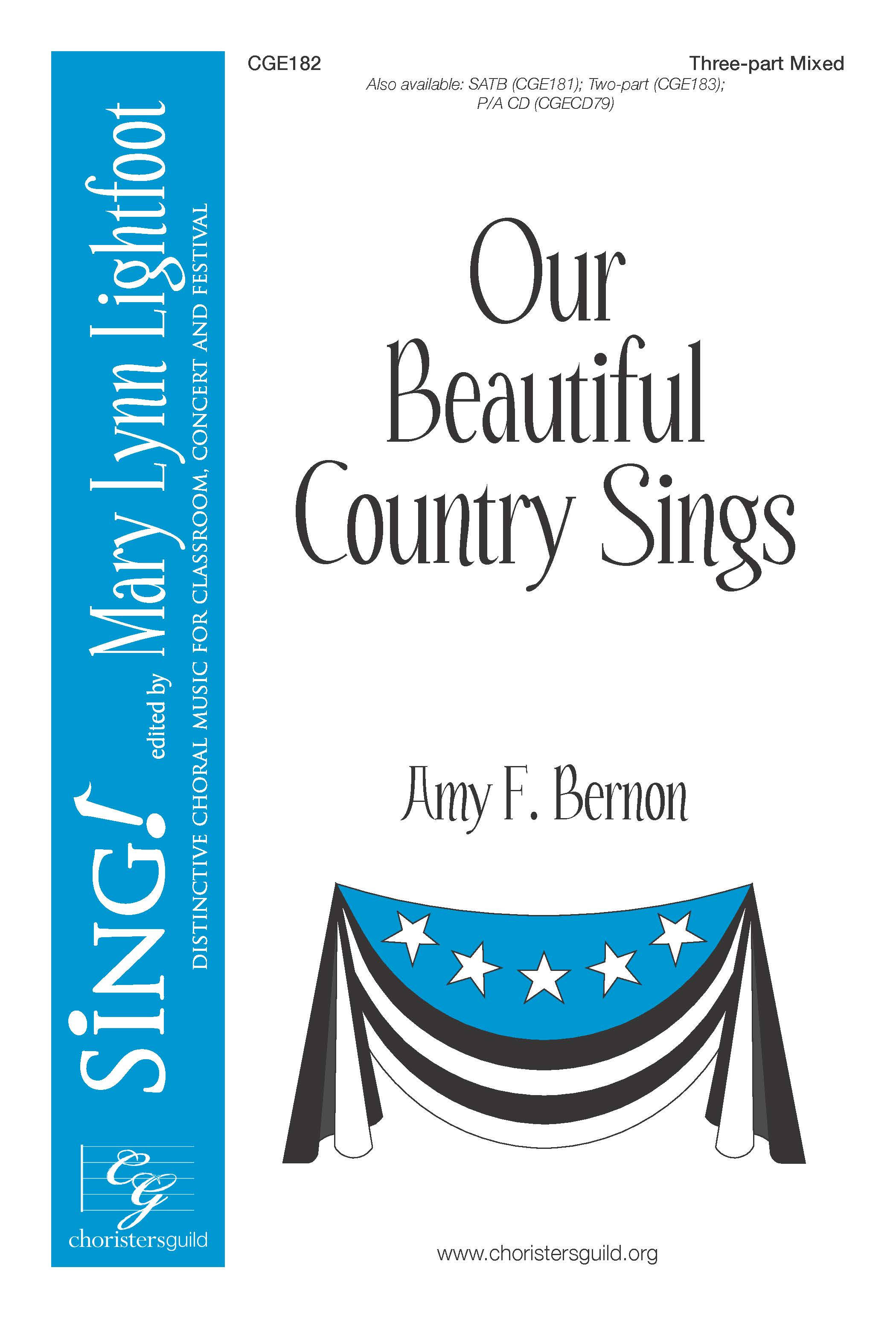Our Beautiful Country Sings Three-part Mixed