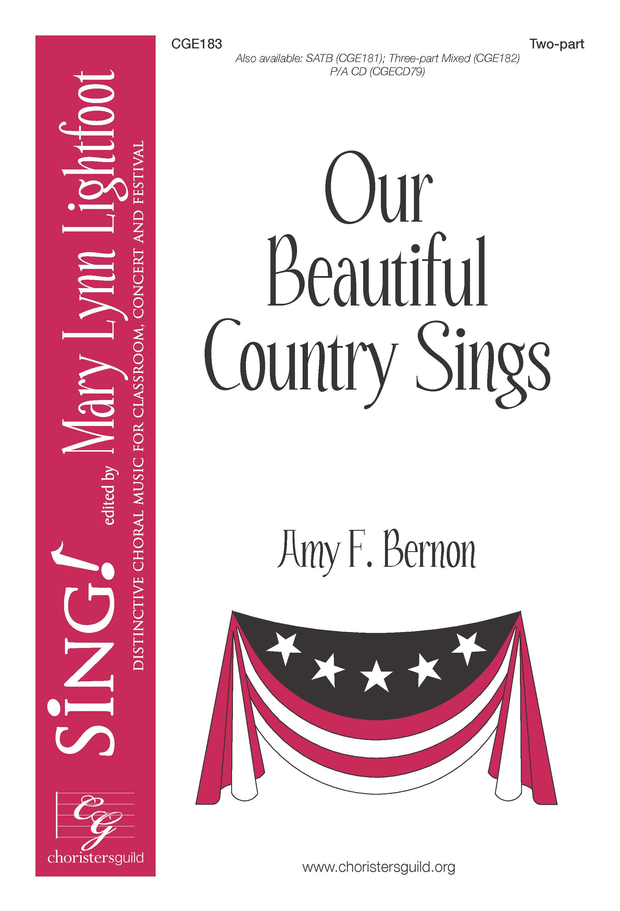 Our Beautiful Country Sings Two-part