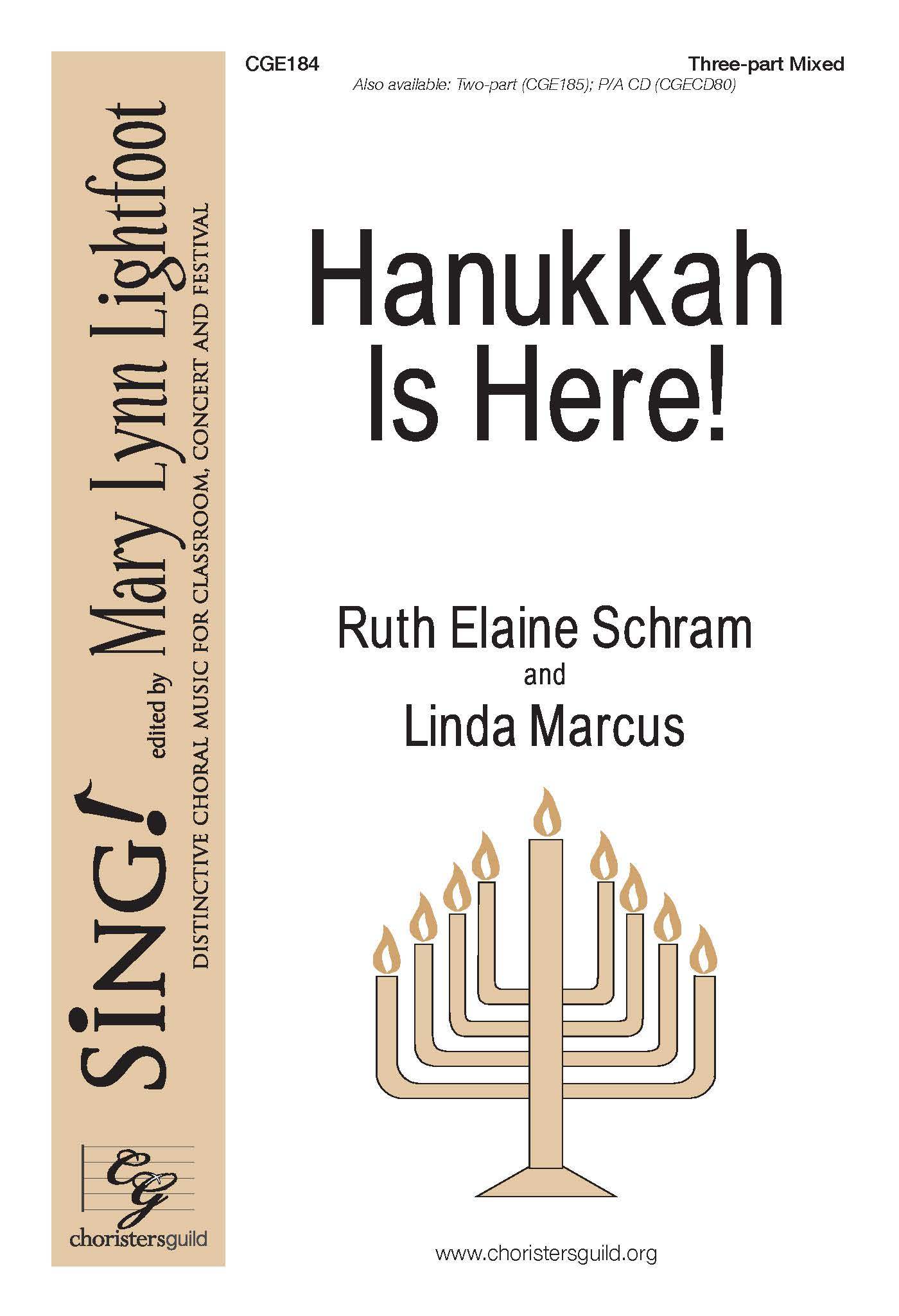 Hanukkah is Here! Three-part Mixed