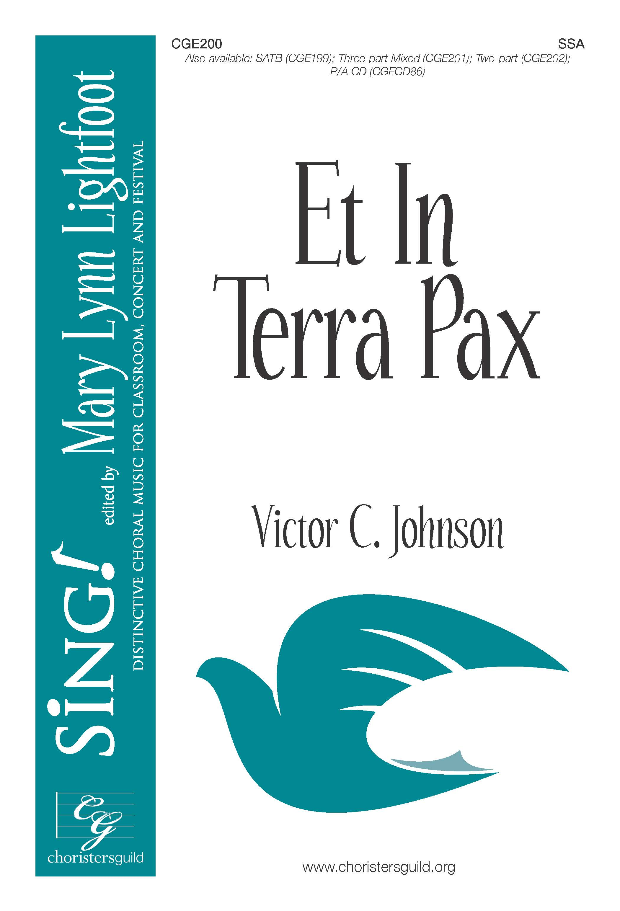 Et In Terra Pax SSA