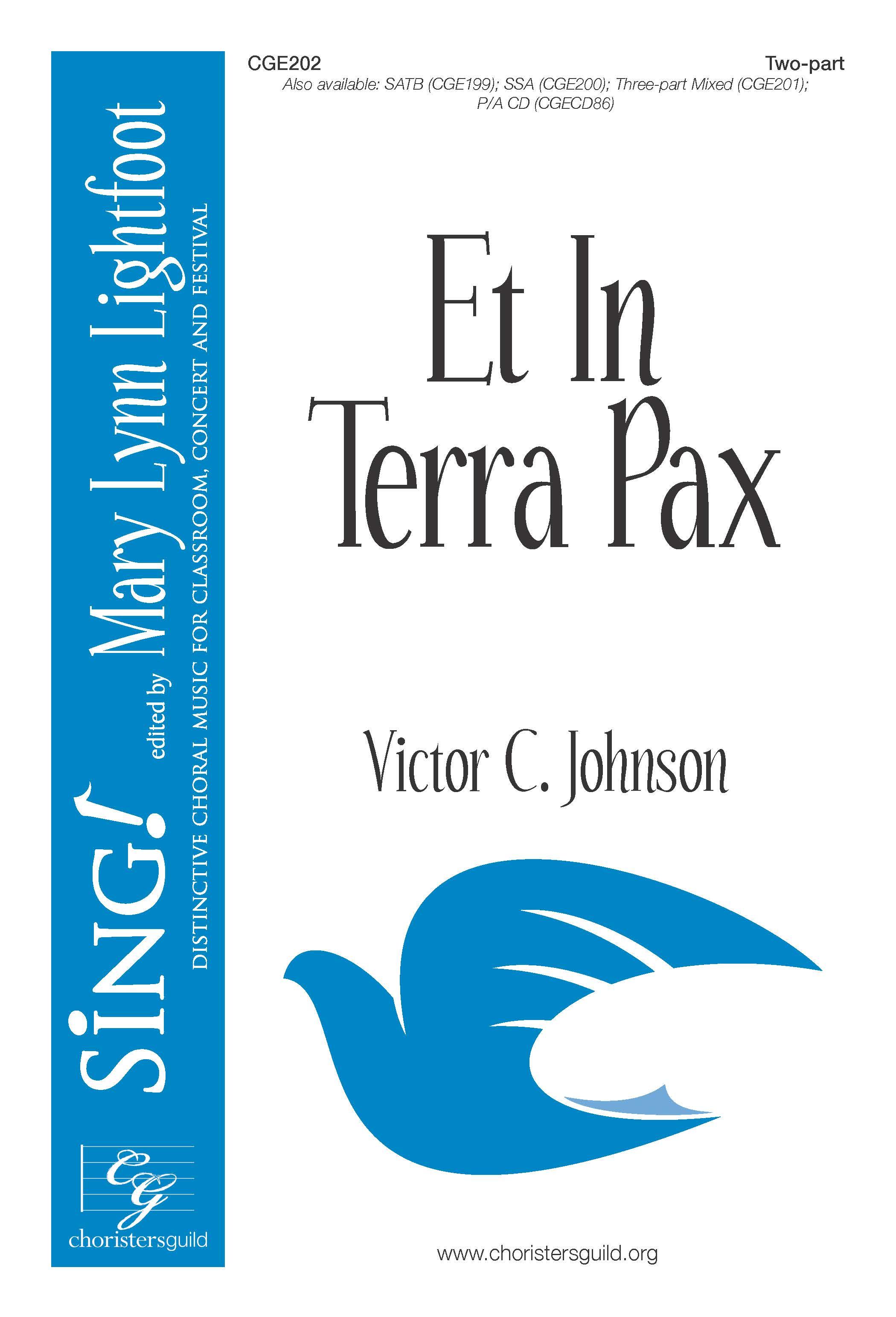 Et In Terra Pax Two-part