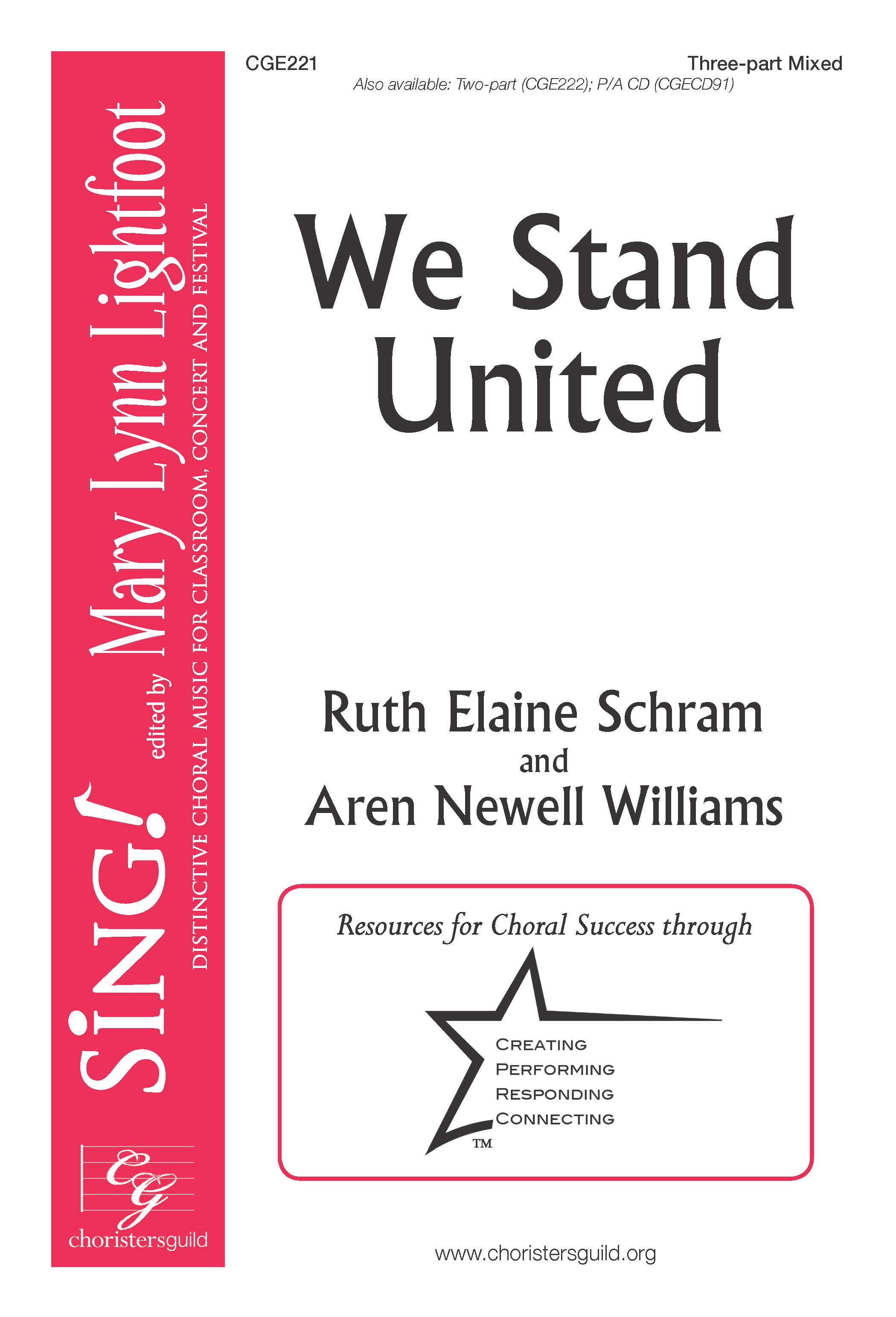 We Stand United Three-part Mixed