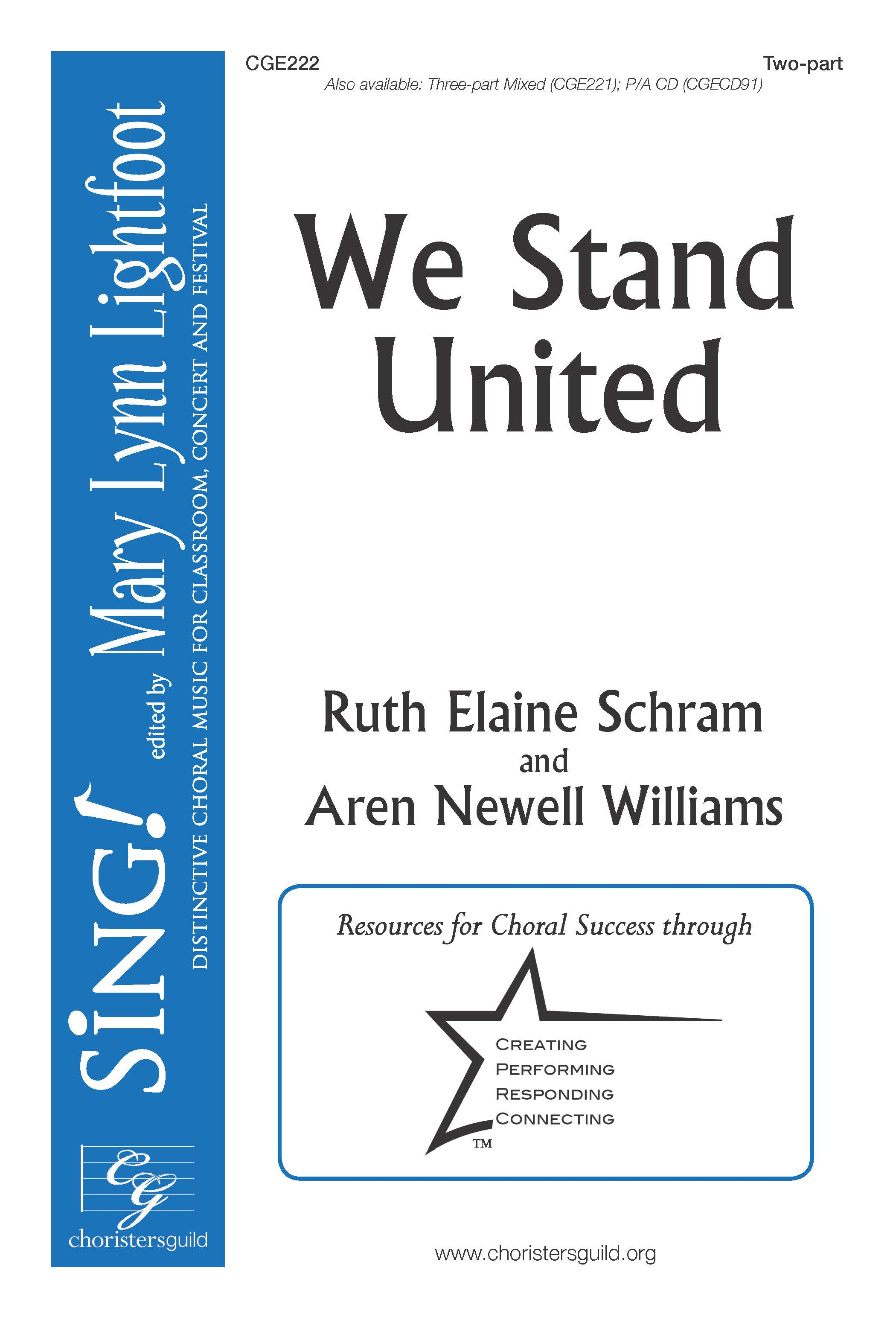 We Stand United Two-part