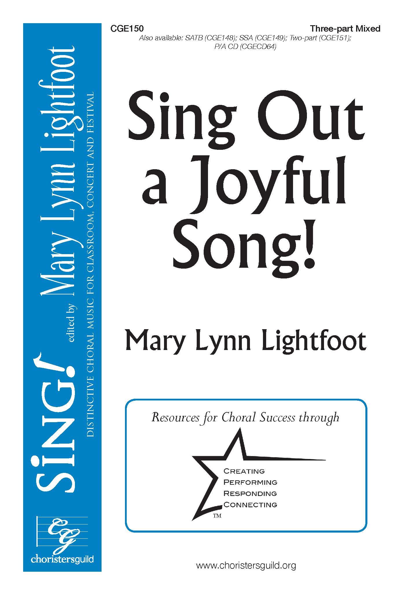 Sing Out a Joyful Song! Three-Part Mixed
