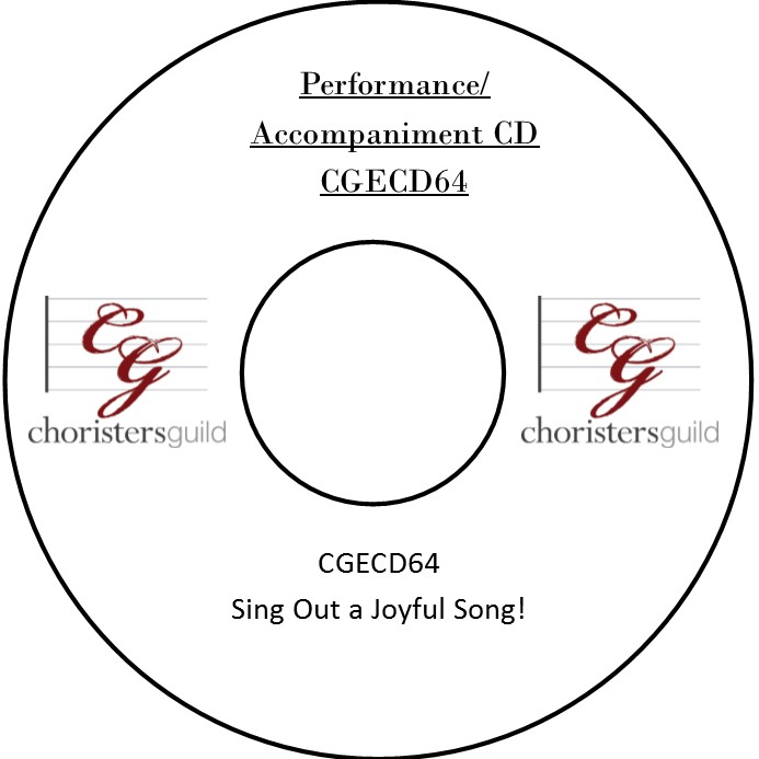 Sing Out a Joyful Song! (Performance/Accompaniment CD)
