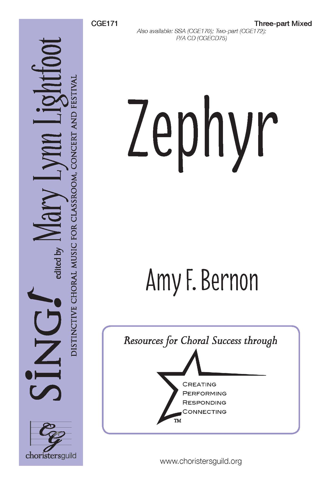 Zephyr Three-part Mixed