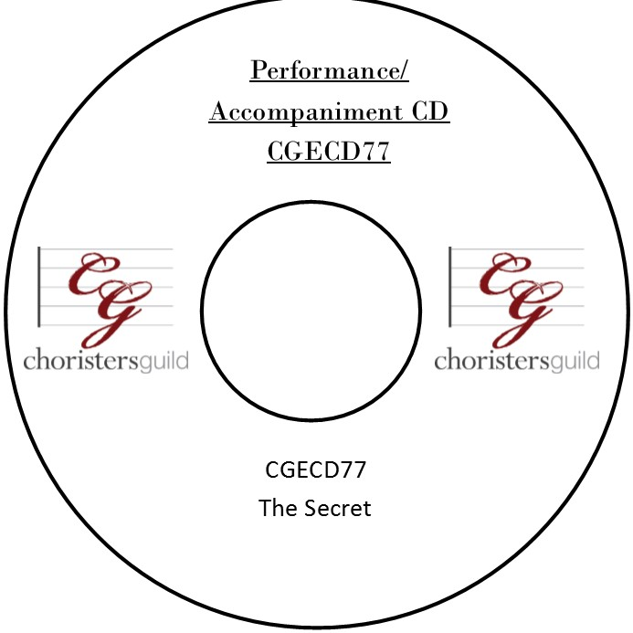 The Secret (Performance/Accompaniment CD)
