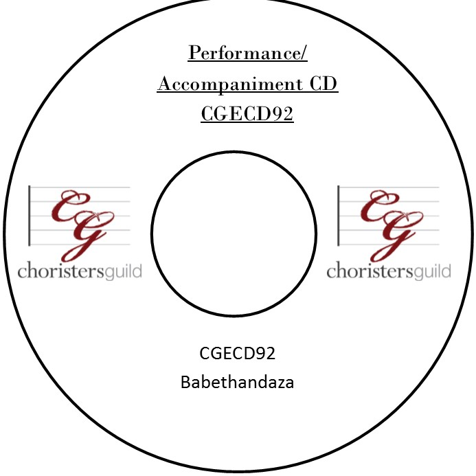 Babethandaza (Performance/Accompaniment CD)