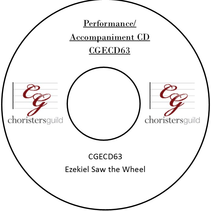 Ezekiel Saw the Wheel (Performance/Accompaniment CD)