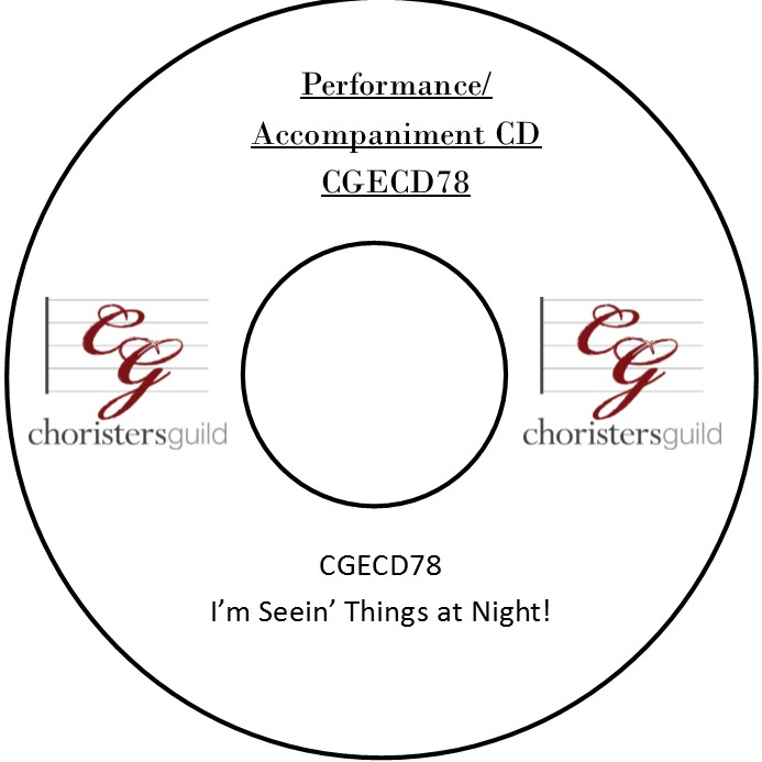 I'm Seein' Things at Night! (Performance/Accompaniment CD)