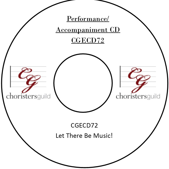 Let There Be Music! (Performance/Accompaniment CD)