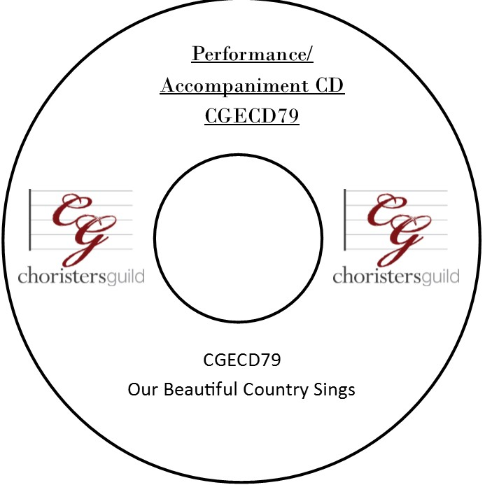 Our Beautiful Country Sings (Performance/Accompaniment CD)