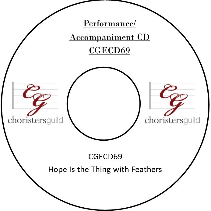 Hope Is the Thing with Feathers (Performance/Accompaniment CD)