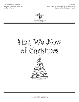 Sing We Now of Christmas Reproducible Instrumental Parts