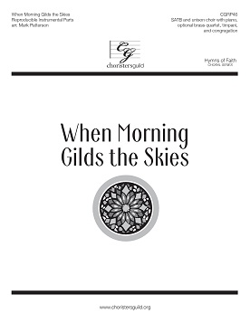 When Morning Gilds the Skies Reproducible Instrumental Parts