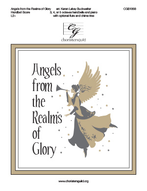 Angels from the Realms of Glory - Handbell Score