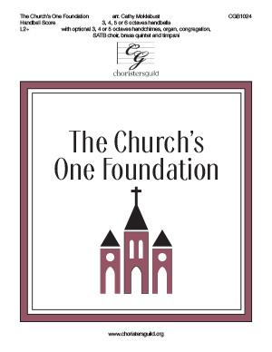 The Church's One Foundation - Handbell Score