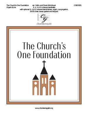 The Church's One Foundation - Organ Score