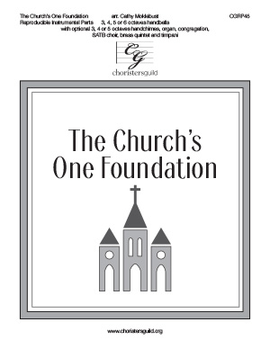 The Church's One Foundation - Reproducible Instrumental Parts