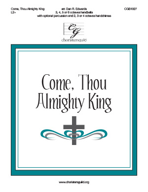 Come, Thou Almighty King, 3-6 octaves