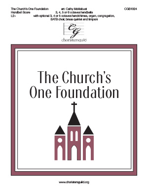 The Church's One Foundation - Handbell Score