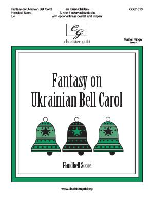 Fantasy on Ukrainian Bell Carol - Handbell Score