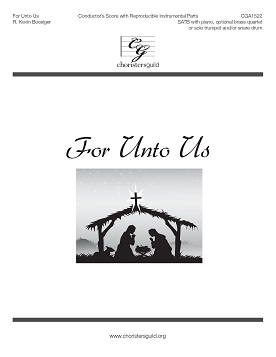 For Unto Us Conductor Score + Reproducible Instrumental Parts