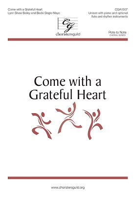 Come with a Greatful Heart Audio Download