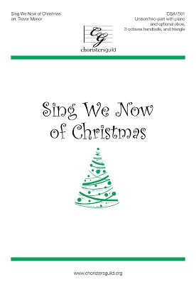 Sing We Now of Christmas (Accompaniment Track)