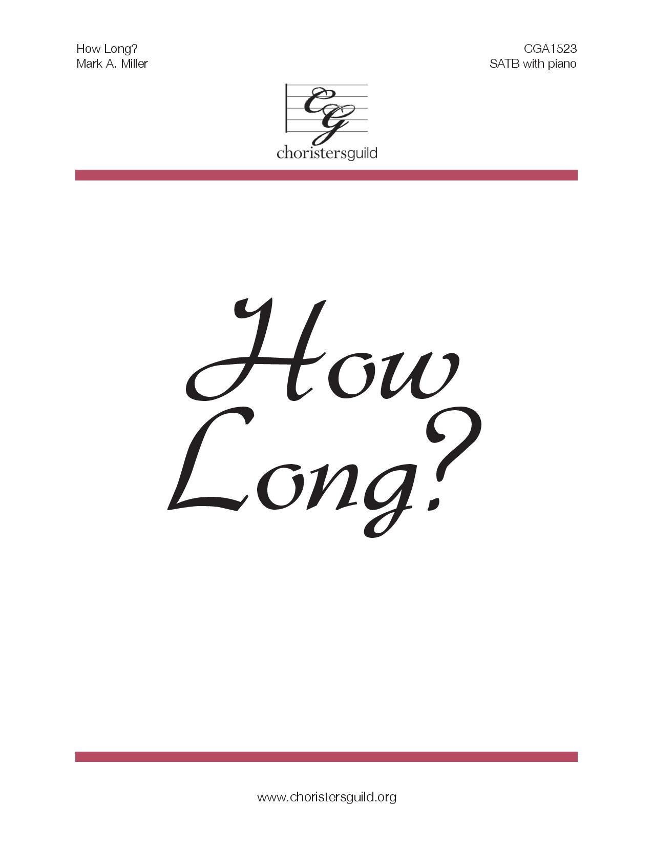 How Long? Audio Download