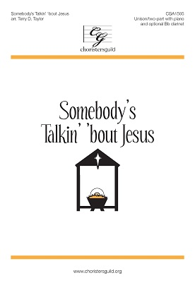 Sombody's Talkin' 'bout Jesus Accompaniment Track