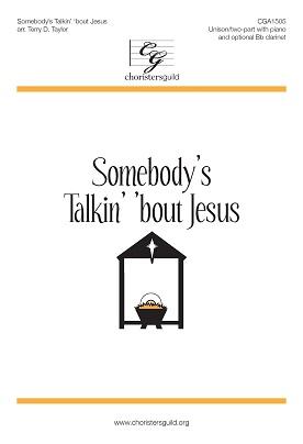 Sombody's Talkin' 'bout Jesus Accompaniment Track