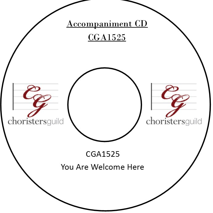 You Are Welcome Here Accompaniment Track