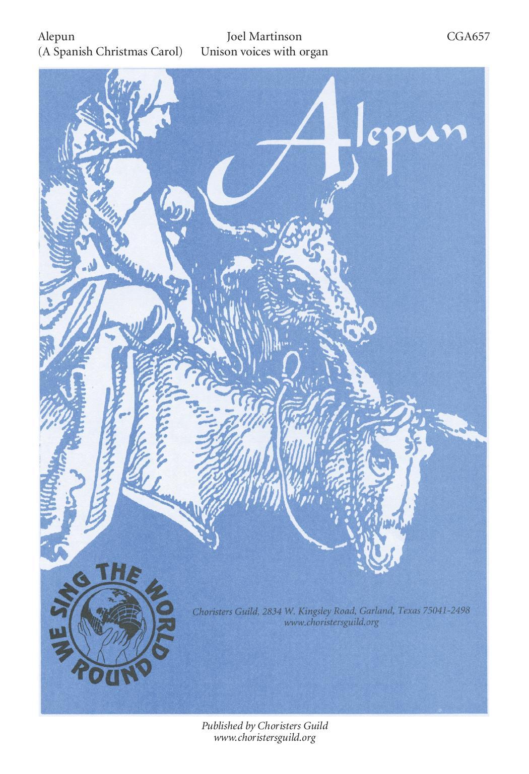 Alepun, A Spanish Christmas Carol