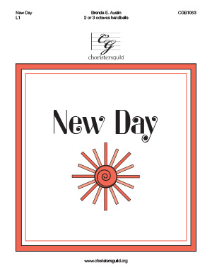 New Day (2 or 3 octaves)