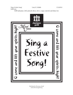 Sing a Festive Song! (Full Score)