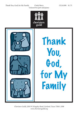 Thank You, God, for My Family