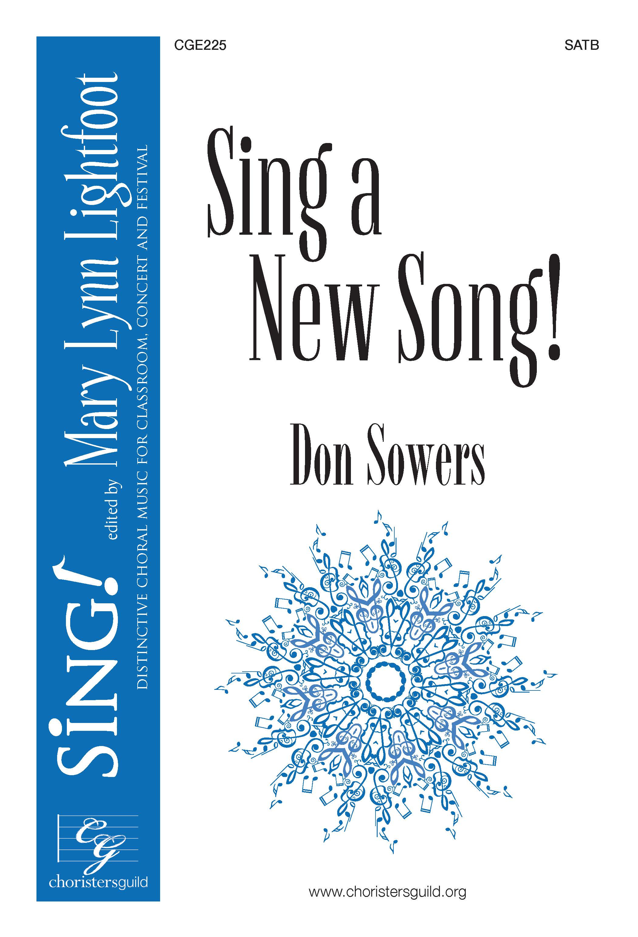 Sing a New Song! SATB