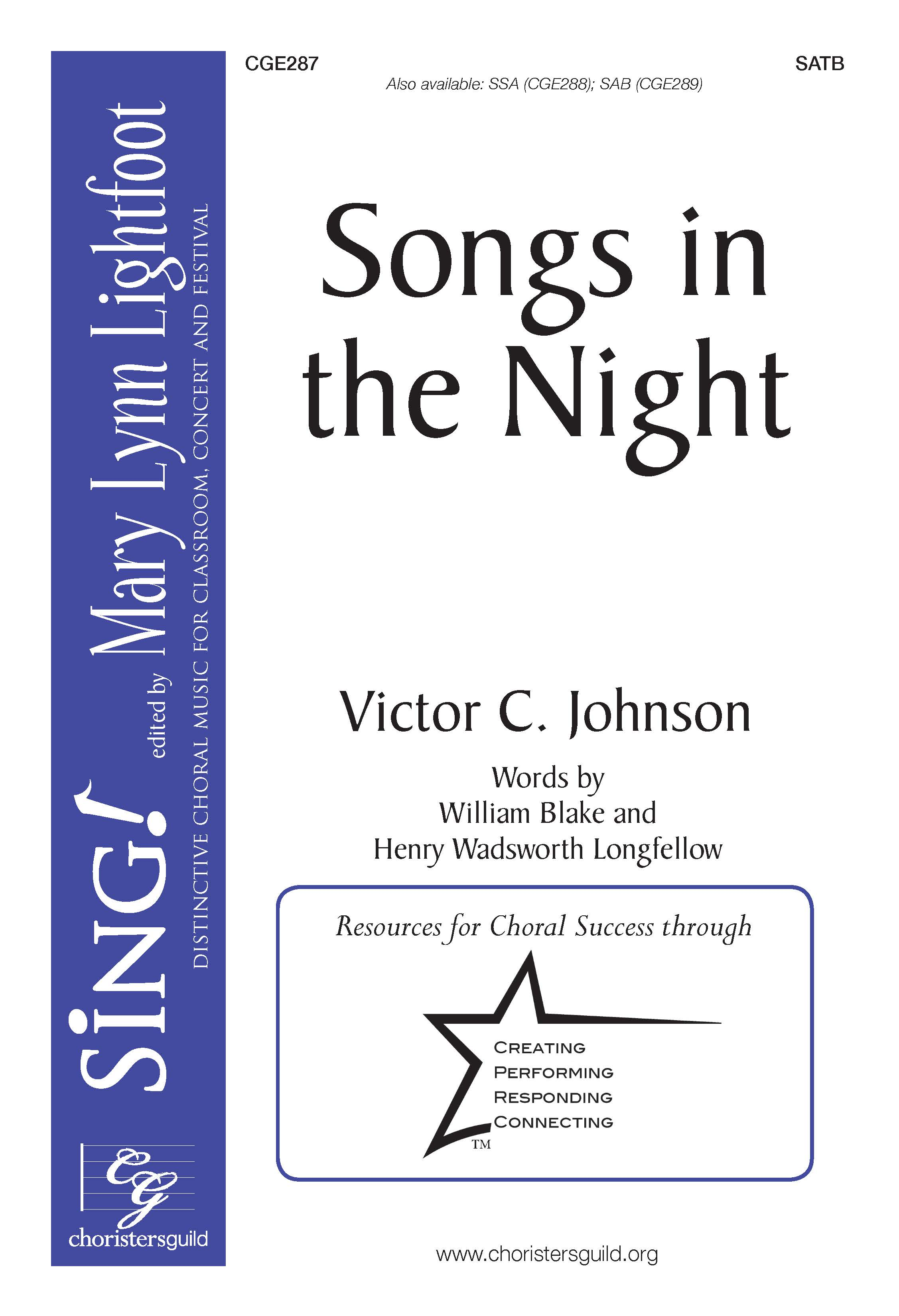 Songs in the Night SATB