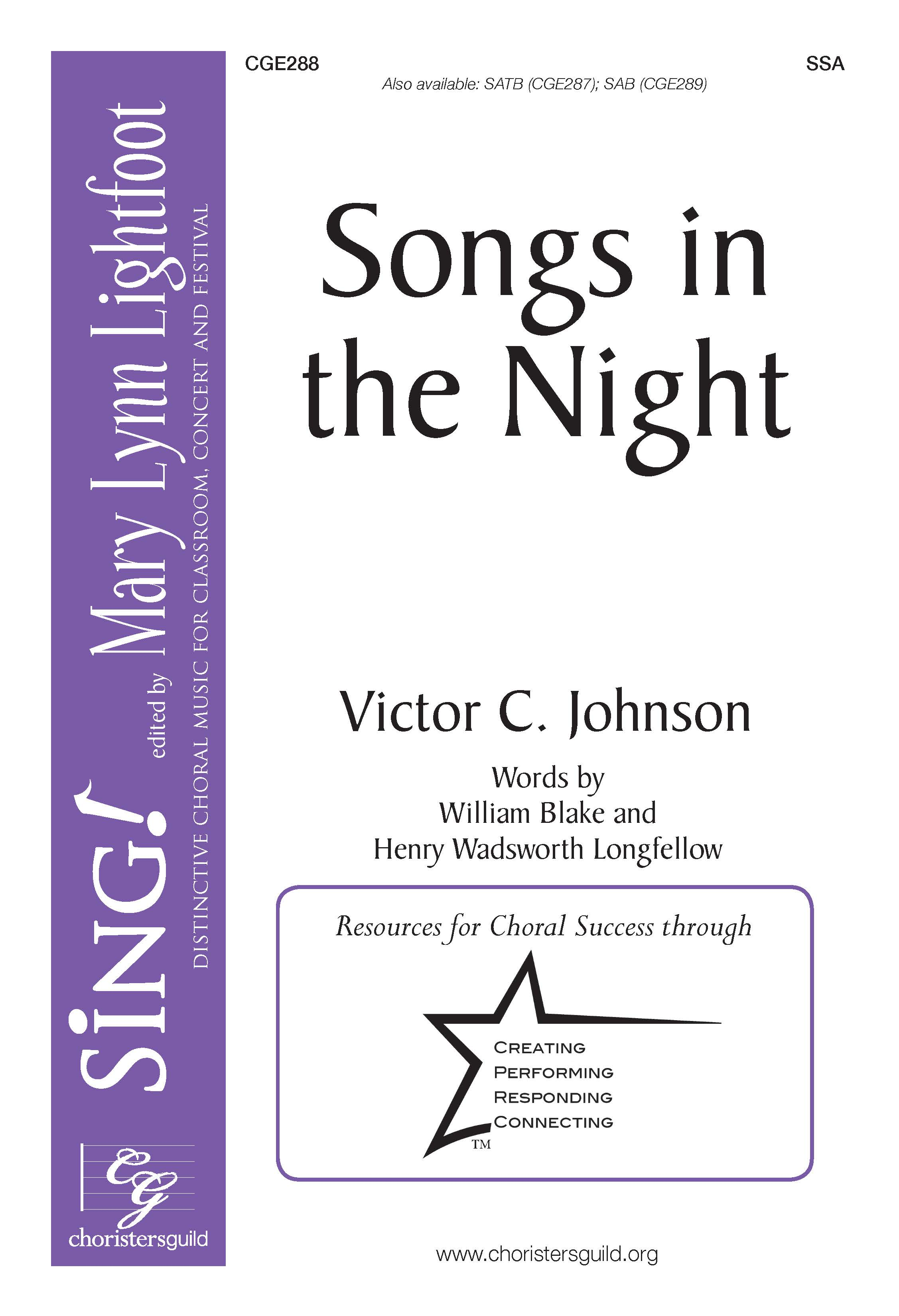Songs in the Night SSA