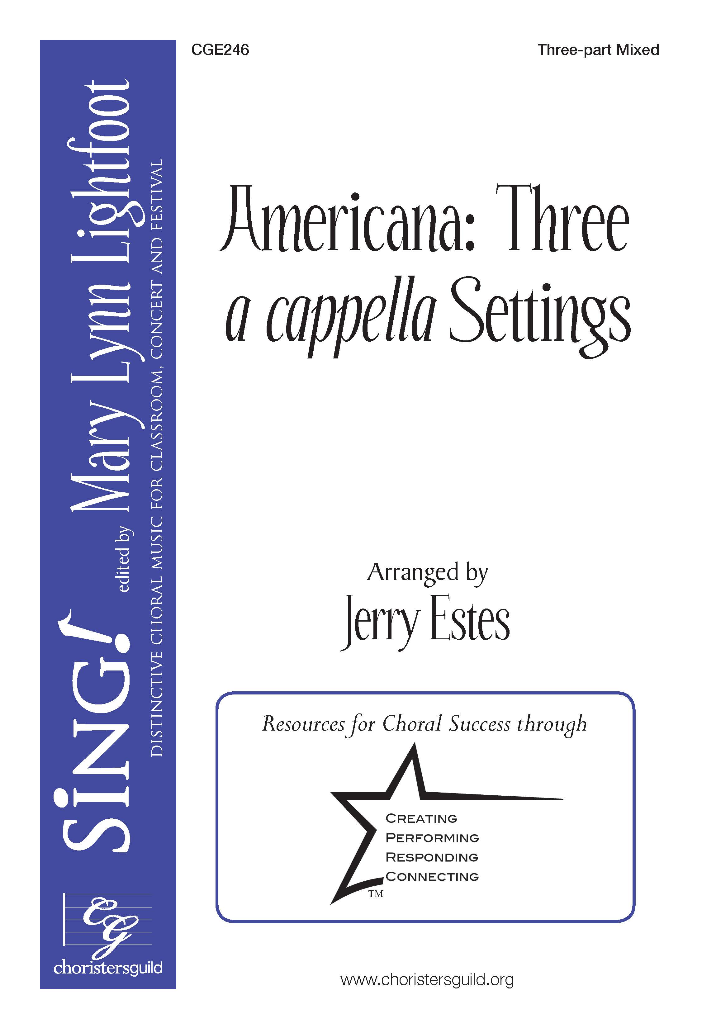 Americana: Three a cappella Settings