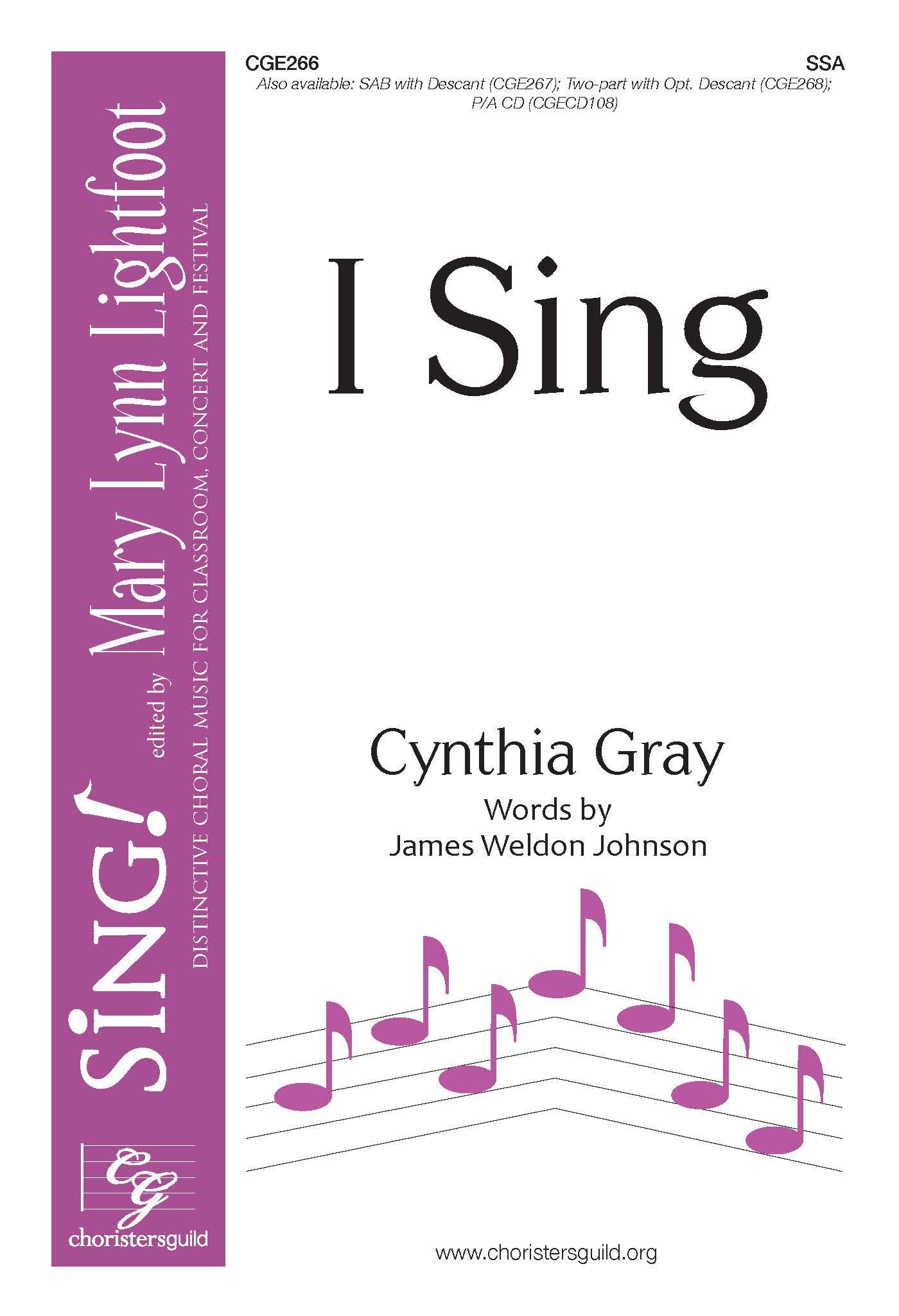 I Sing SSA