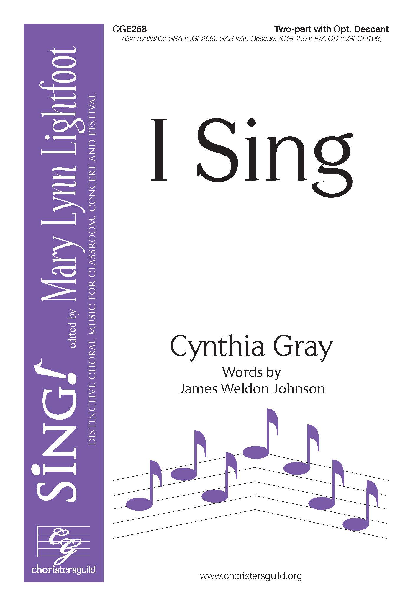 I Sing Two-part