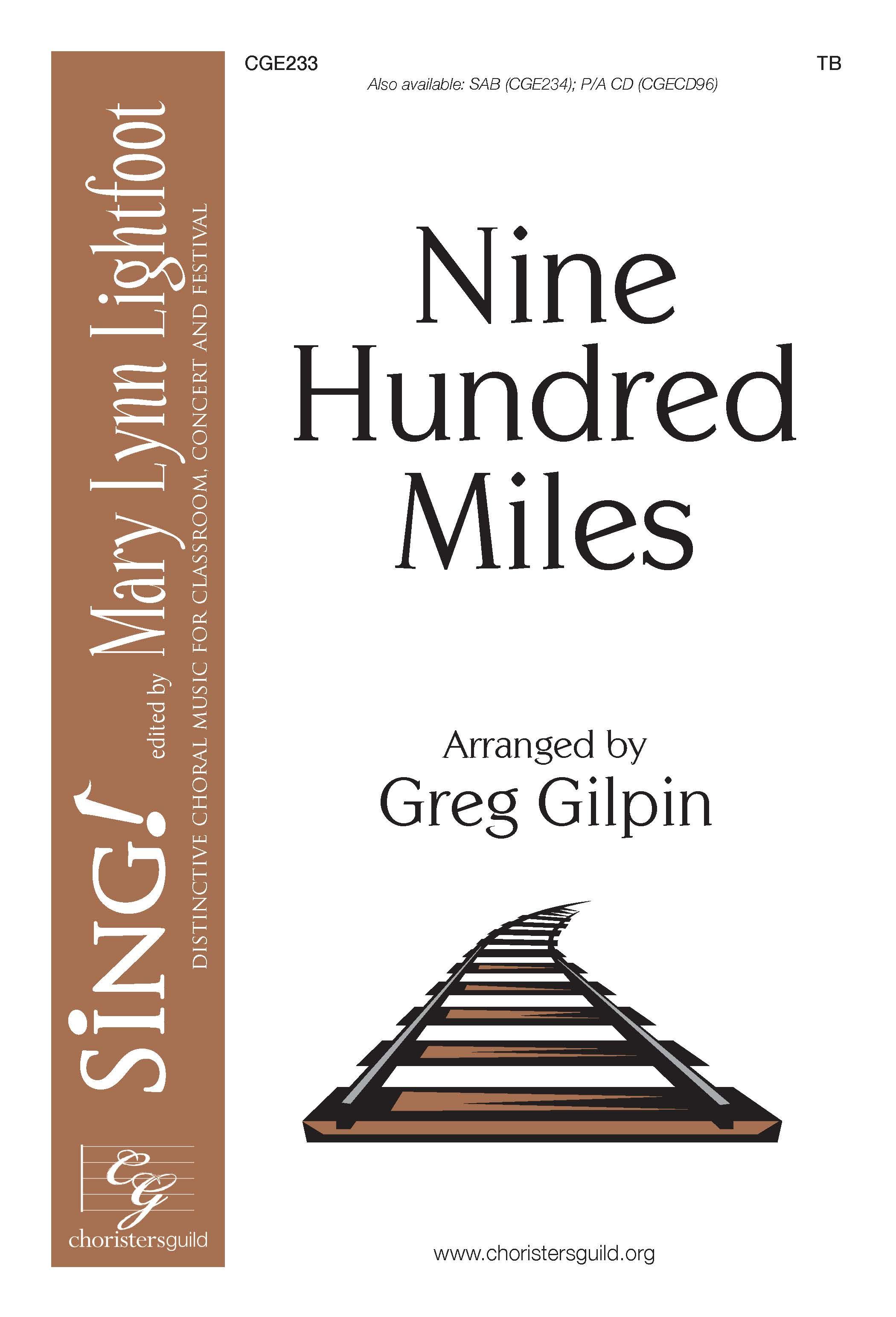 Nine Hundred Miles TB