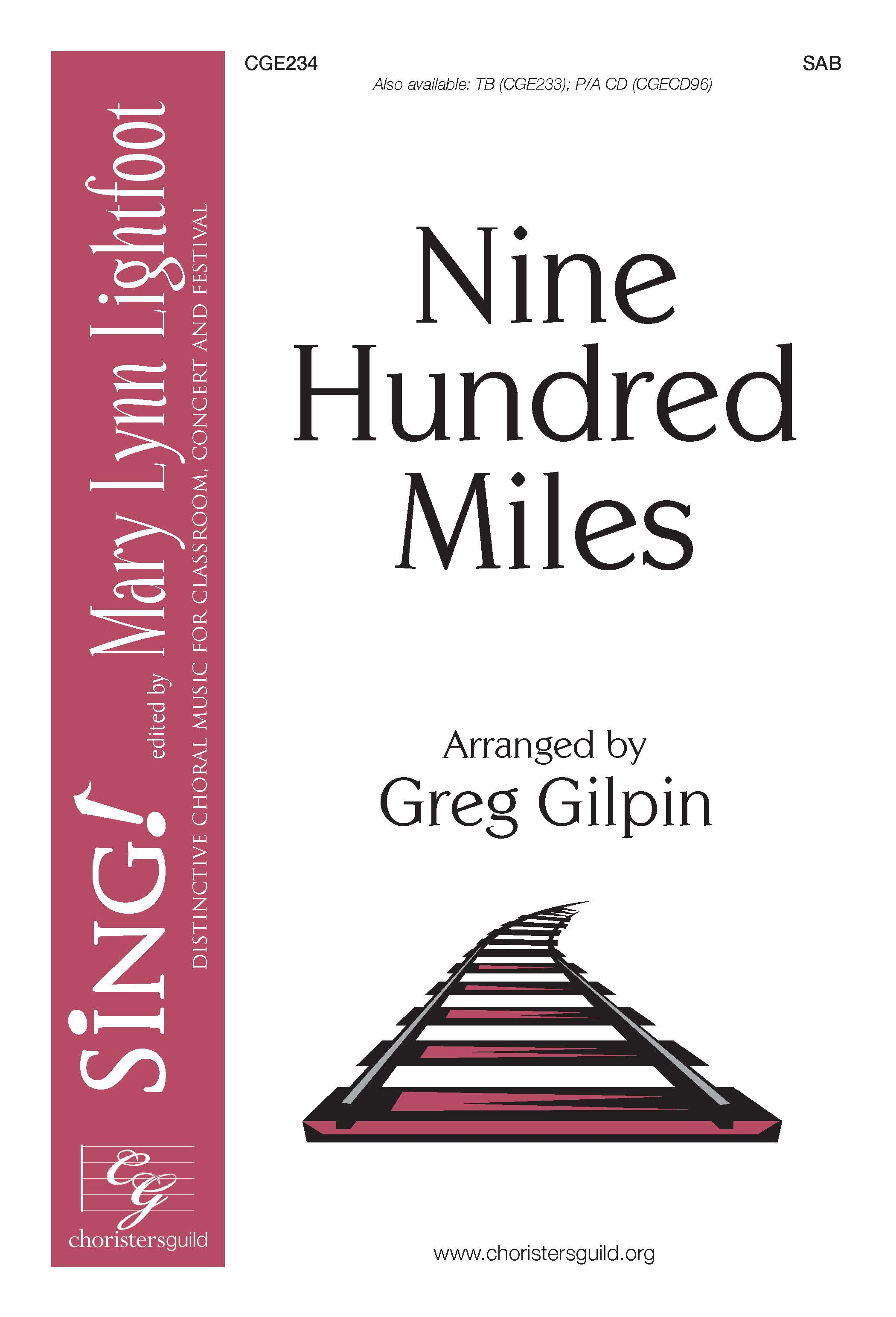 Nine Hundred Miles SAB