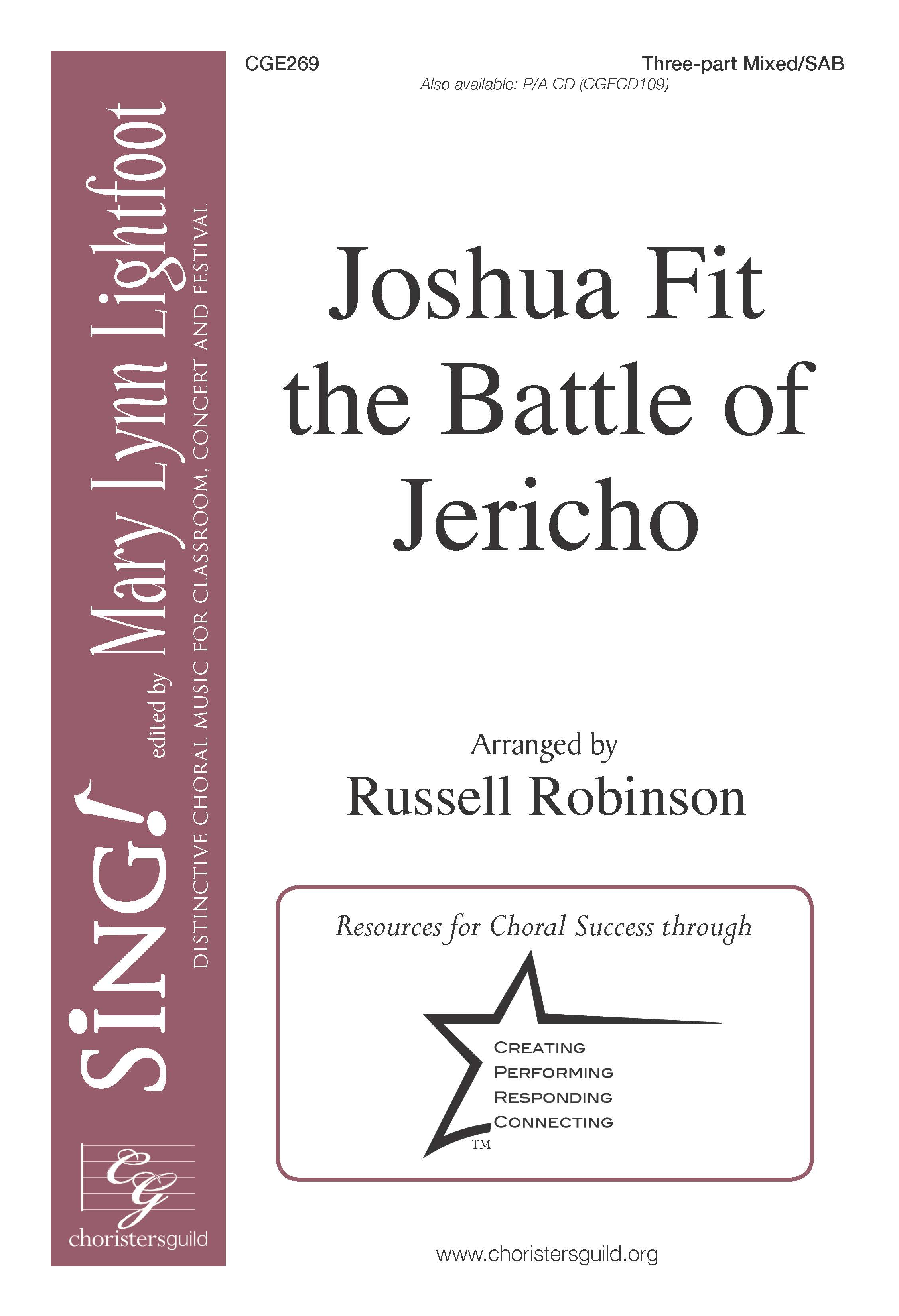 Joshua Fit the Battle of Jericho